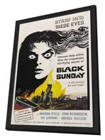 Black Sunday - 11 x 17 Movie Poster - Style A - in Deluxe Wood Frame