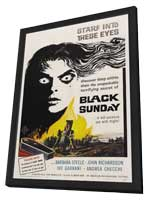 Black Sunday - 27 x 40 Movie Poster - Style A - in Deluxe Wood Frame