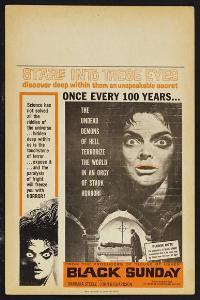 Black Sunday - 11 x 17 Movie Poster - Style C