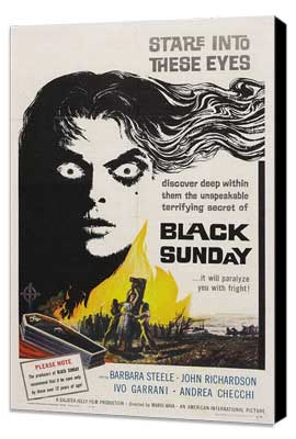 Black Sunday - 11 x 17 Movie Poster - Style A - Museum Wrapped Canvas