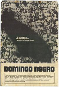 Black Sunday - 11 x 17 Movie Poster - Spanish Style A