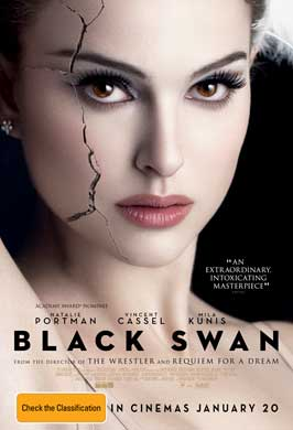 Black Swan - 27 x 40 Movie Poster - Australian Style A