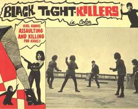 Black Tight Killers - 11 x 14 Movie Poster - Style A