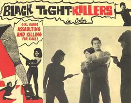 Black Tight Killers - 11 x 14 Movie Poster - Style B