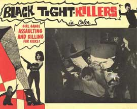Black Tight Killers - 11 x 14 Movie Poster - Style D