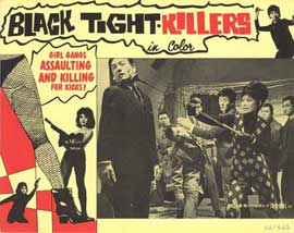 Black Tight Killers - 11 x 14 Movie Poster - Style E