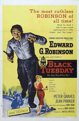 Black Tuesday - 11 x 17 Movie Poster - Style B