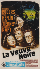 Black Widow - 11 x 17 Movie Poster - French Style A