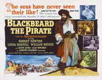 Blackbeard the Pirate - 22 x 28 Movie Poster - Half Sheet Style A