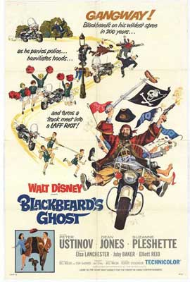 Blackbeard's Ghost - 11 x 17 Movie Poster - Style B