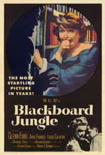 Blackboard Jungle - 27 x 40 Movie Poster - Style A