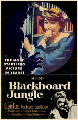Blackboard Jungle - 11 x 17 Movie Poster - Style A