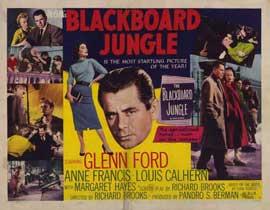 Blackboard Jungle - 11 x 14 Movie Poster - Style A