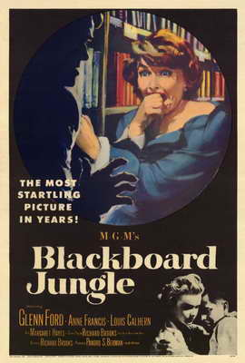 Blackboard Jungle - 27 x 40 Movie Poster - Style A