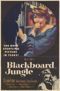 Blackboard Jungle - 43 x 62 Movie Poster - Bus Shelter Style A
