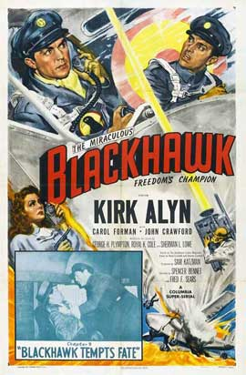 Blackhawk: Fearless Champion of Freedom - 11 x 17 Movie Poster - Style A