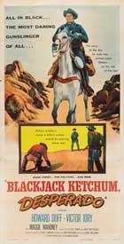 Blackjack Ketchum, Desperado - 20 x 40 Movie Poster - Style A