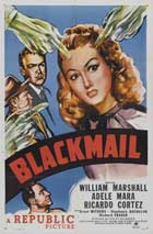 Blackmail - 11 x 17 Movie Poster - Style A