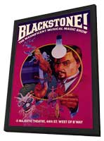 Blackstone! (Broadway) - 11 x 17 Movie Poster - Style A - in Deluxe Wood Frame