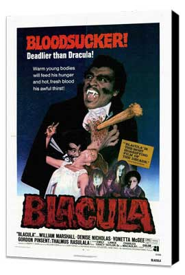Blacula - 27 x 40 Movie Poster - Style A - Museum Wrapped Canvas