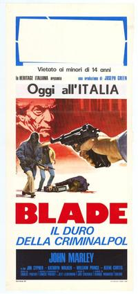 Blade - 11 x 17 Movie Poster - Italian Style A