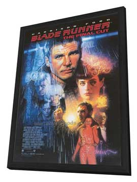 Blade Runner - The Final Cut - 11 x 17 Movie Poster - Style A - in Deluxe Wood Frame