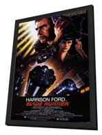 Blade Runner - 11 x 17 Movie Poster - Style A - in Deluxe Wood Frame