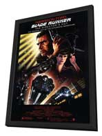 Blade Runner - 27 x 40 Movie Poster - Style A - in Deluxe Wood Frame