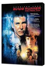 Blade Runner - 27 x 40 Movie Poster - Style E - Museum Wrapped Canvas