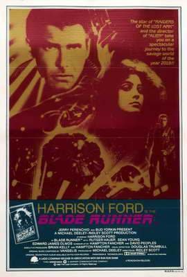 Blade Runner - 27 x 40 Movie Poster