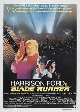 Blade Runner - 27 x 40 Movie Poster - Italian Style B