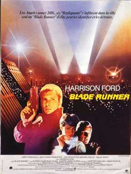 Blade Runner - 11 x 17 Movie Poster - French Style A