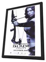 Blade: Trinity - 11 x 17 Movie Poster - Style D - in Deluxe Wood Frame