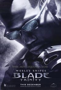 Blade: Trinity - 27 x 40 Movie Poster - Style A