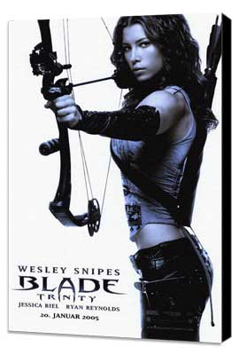 Blade: Trinity - 27 x 40 Movie Poster - Style C - Museum Wrapped Canvas
