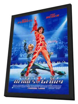 Blades of Glory - 11 x 17 Movie Poster - Style A - in Deluxe Wood Frame