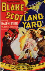 Blake of Scotland Yard - 11 x 17 Movie Poster - Style A
