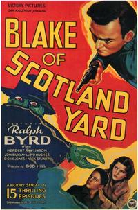 Blake of Scotland Yard - 11 x 17 Movie Poster - Style B