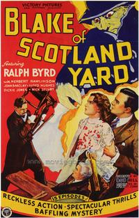 Blake of Scotland Yard - 27 x 40 Movie Poster - Style A