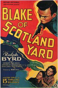 Blake of Scotland Yard - 27 x 40 Movie Poster - Style B