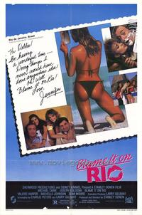 Blame It on Rio - 27 x 40 Movie Poster - Style A