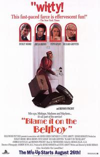Blame It on the Bellboy - 11 x 17 Movie Poster - Style A