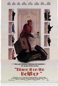 Blame It on the Bellboy - 11 x 17 Movie Poster - Style B