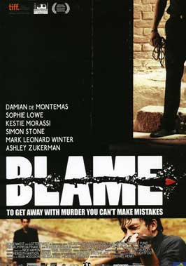 Blame - 11 x 17 Movie Poster - Style A