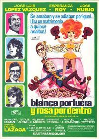 Blanca por fuera y Rosa por dentro - 11 x 17 Movie Poster - Spanish Style A