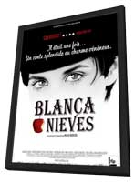 Blancanieves - 11 x 17 Movie Poster - French Style A - in Deluxe Wood Frame
