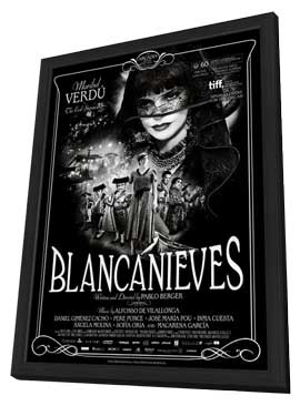 Blancanieves - 11 x 17 Movie Poster - Style A - in Deluxe Wood Frame