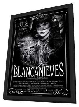 Blancanieves - 11 x 17 Movie Poster - Spanish Style A - in Deluxe Wood Frame