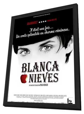 Blancanieves - 27 x 40 Movie Poster - French Style A - in Deluxe Wood Frame
