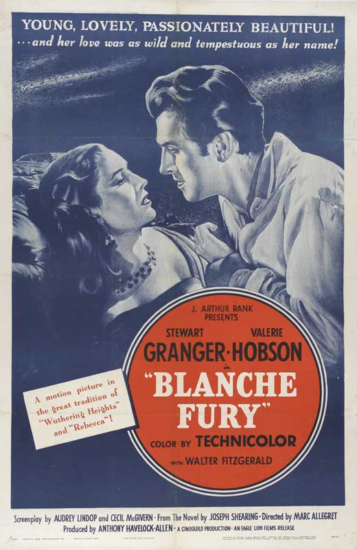 Blanche Fury Movie Poster